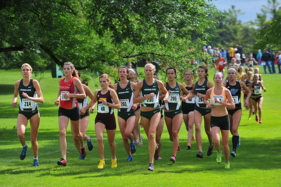 First Loop, Women's College 6K - 2014 MSU Spartan Invite