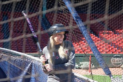 Batting Practice at Fenway