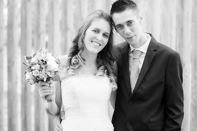 Huwelijk Kristof en Stepahnie