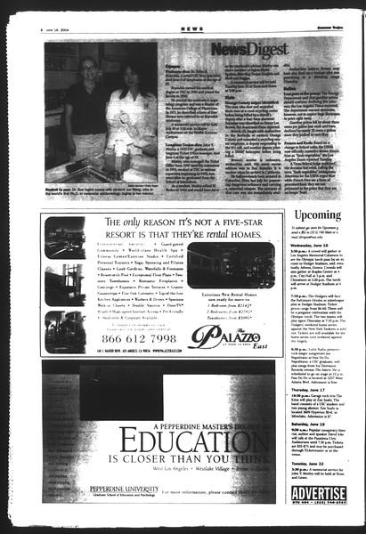 Summer Trojan, Vol. 152, No. 5, June 16, 2004