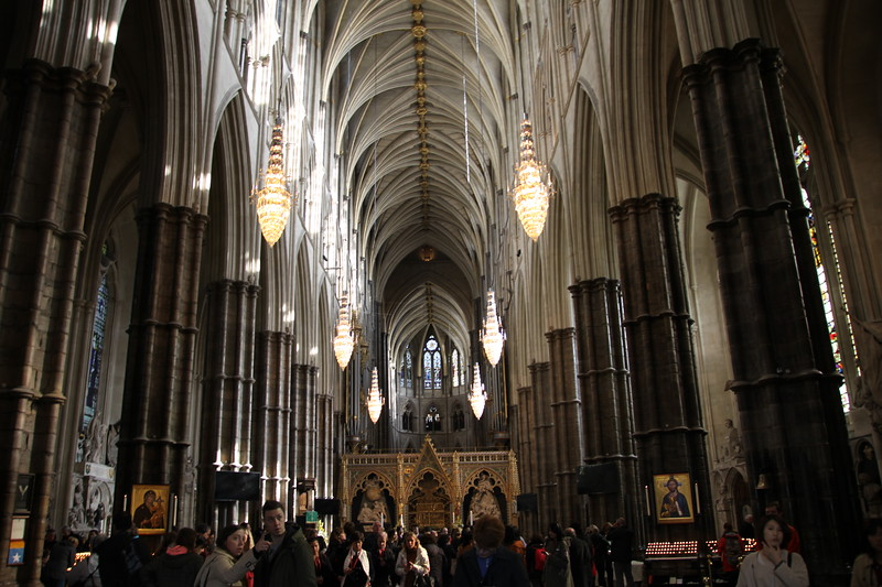 Westminster Abbey-interior