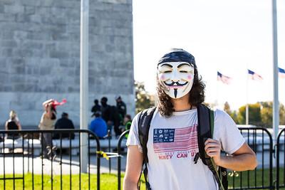 Million Mask March, Washington DC, November 5