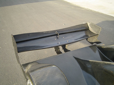 2009 Low rear wing
