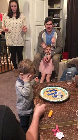 2018 January - Peyton's 2nd Birthday