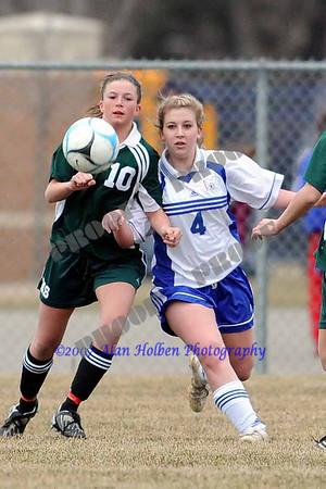 JV Soccer - Williamston at Mason - April 3