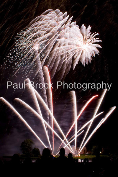 Celebration fireworks at Combermere