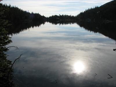 Sky Pond via Alberta Falls & The Loch & Glass Lake 7-2-2008