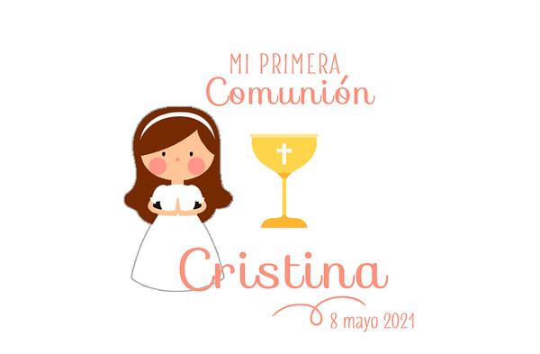 Comunión de Cristina - 8 mayo 2021