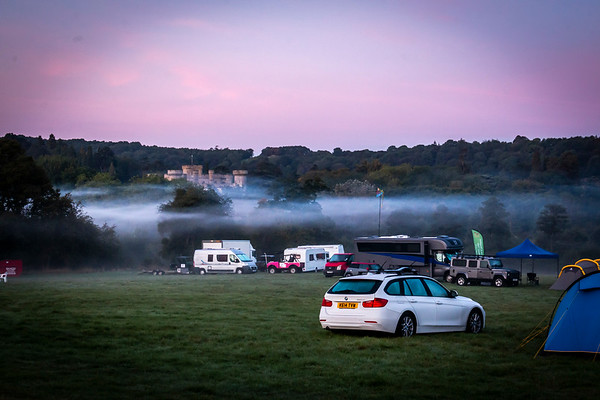 Eastnor Mist and Sunset