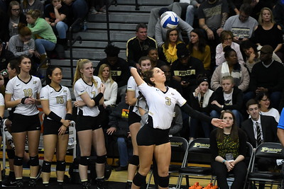 Purdue vs Iowa Volleyball