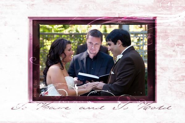 Justin & Kim's Wedding Edits & Frames