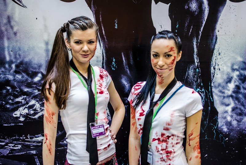 Undead girls at Igromir 2012