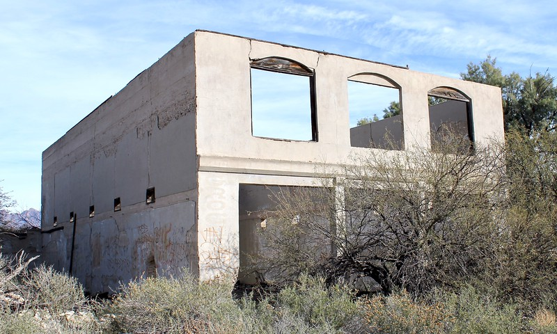Historic structure at Geronimo (2019)