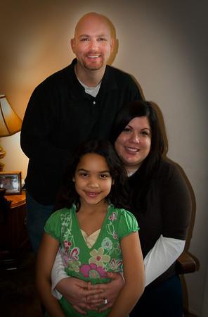 Dave and Margo Martin Family Nov 2009