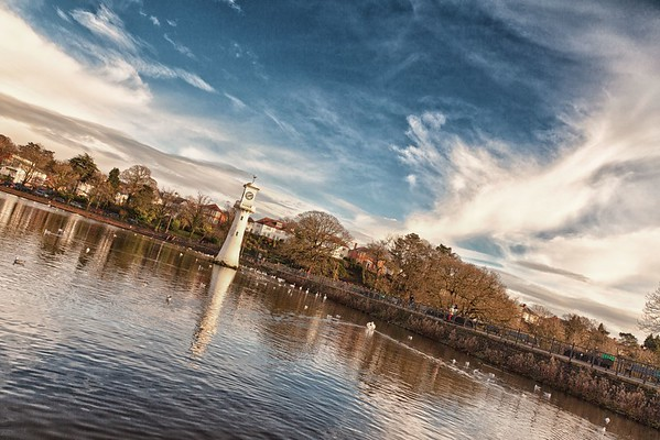 Roath Park in Cardiff.