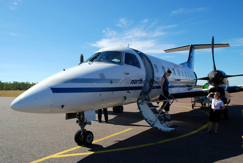 The Embraer plane from Galiwinku to Darwin, April 2008