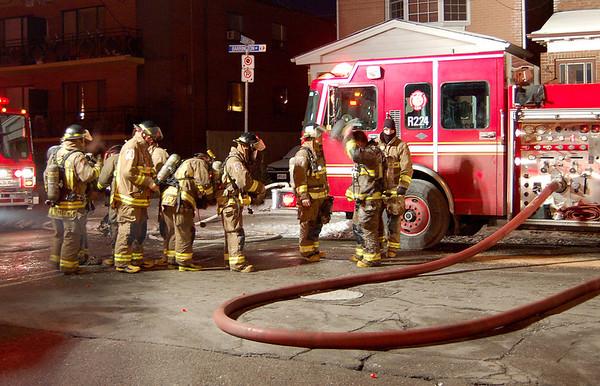 January 29, 2007 - Fatal 2nd Alarm - 128 Barrington Avenue