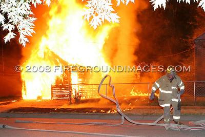Promenade St. Fire (Detroit, MI) 7/30/07