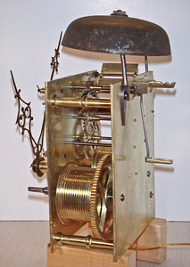 British Long Case Mechanism by J Perry, London