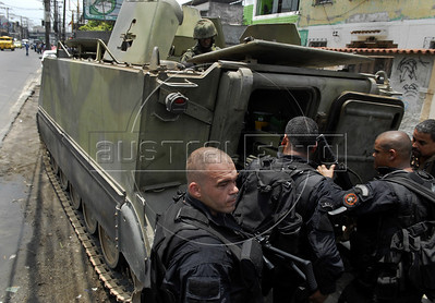 Rio de Janeiro anti-drugs war