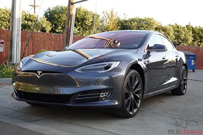 2019 Tesla Model S - Midnight Silver - STEK DYNOShield Full PPF Wrap