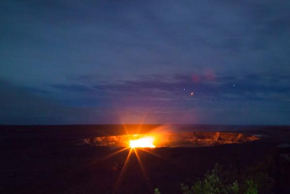 Volcano Eruption Halemaumau Crater