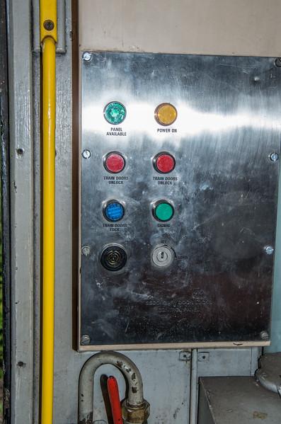 Door control panel, mark 2 coach