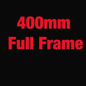 400mm Football test