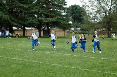Shelby Lions Football Club - 2006 Varsity Cheer Squad