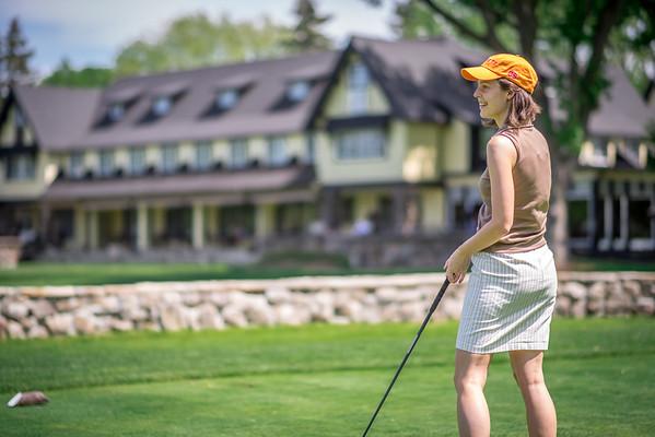 Kanawaki - Golf with Dan, Ana and Valerie - 2015-05-18