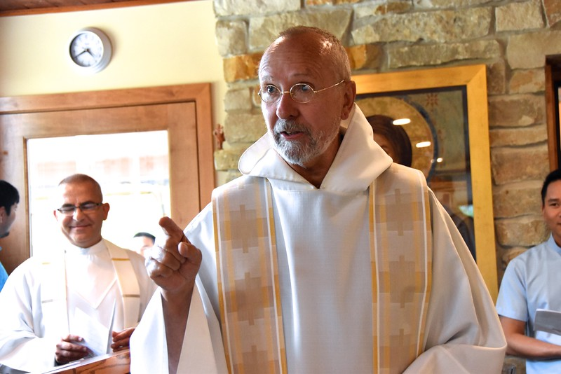 Fr. Byron, novice master