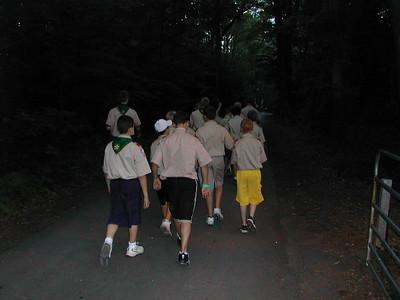 Boy Scout Camp 2003