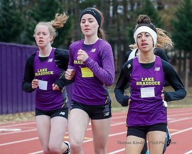 Girls Indoor Track 12/1/18