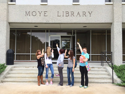 Library Orientation Fall 2014