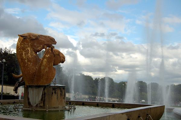 Sculptures Trocadéro