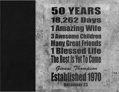 Gionni 50th Album