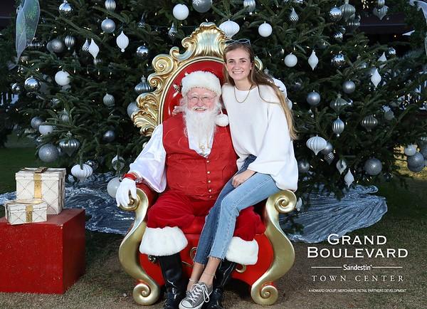 11.30.19 | Grand Blvd Santa Photos