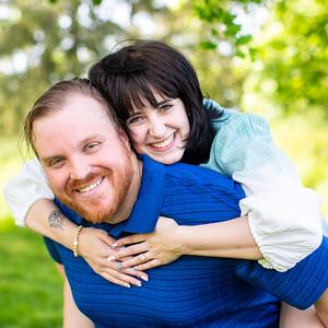 Julie & Mike's Engagement Portraits