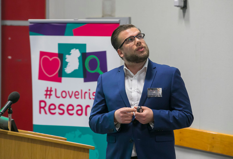 22/02/2018. Research Sparks in Waterford Institute of Technology. Pictured is Dr Michael Barros. Picture: Patrick Browne