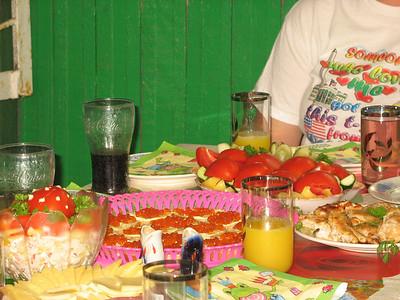 2010-08-02, Ilia's 10th birthday with Nastia
