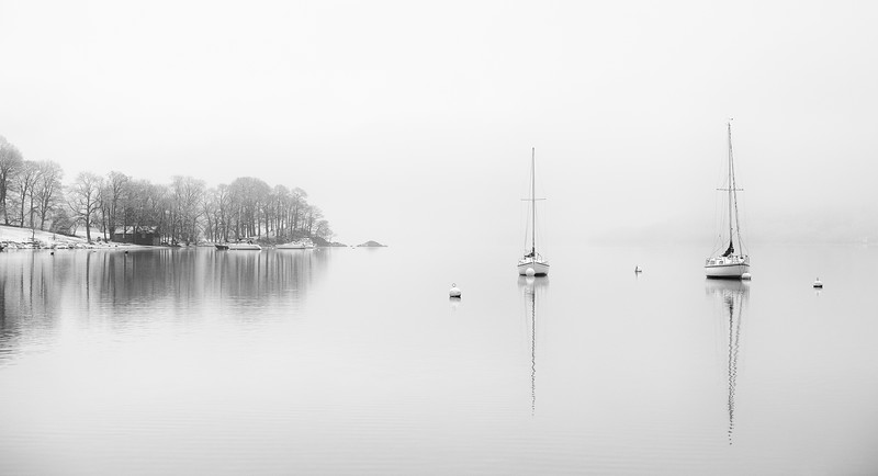 Windermere in White