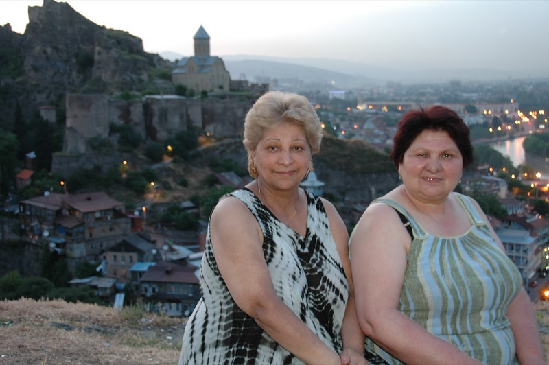 Two Azerbaijani Ladies - Tbilisi, Georgia