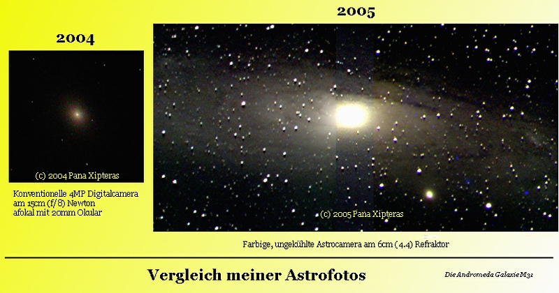 2005 AUG: Dunkle Wolken in der Andromeda Galaxie