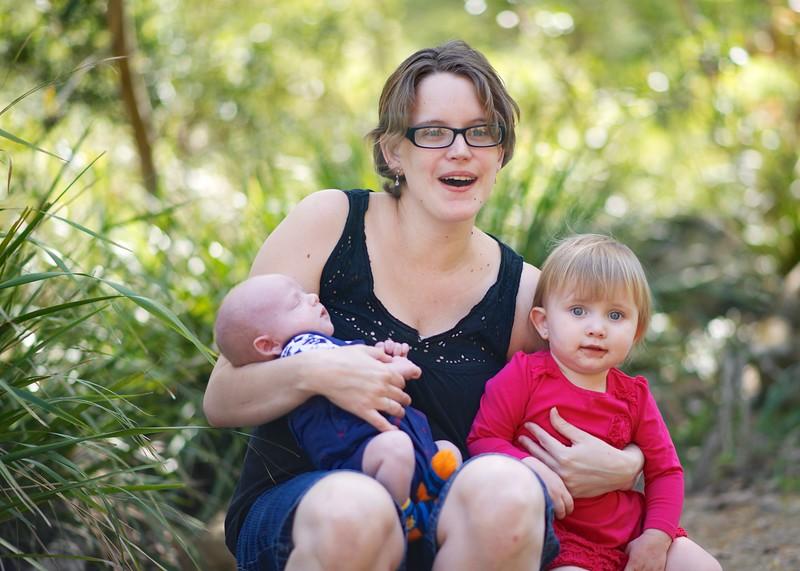 Mum, Heidi & Marcus