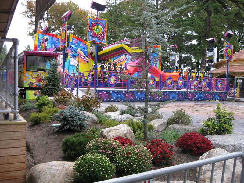 New landscaping by the Equinox ride.