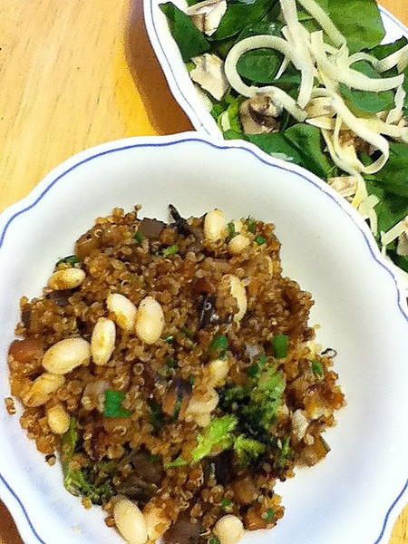 Day 6: Quinoa could very well be my new favorite food