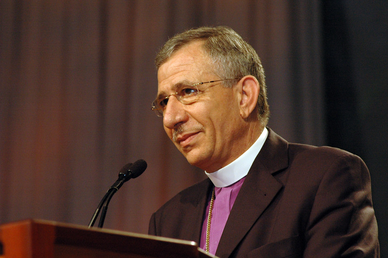 ELCJHL greeting from the Rev. Munib Younan, bishop of Evangelical Lutheran Church in Jordan and the Holy Land.