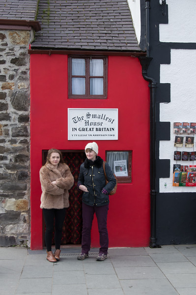 Smallest house in Great Britain in Conway