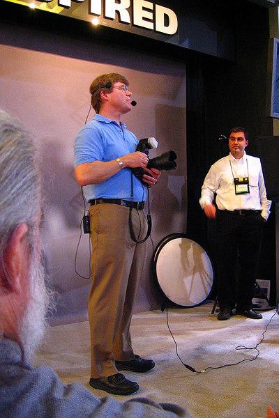 Famous photographer Joe McNally talks about lighting using Nikon's SB800 flash units.