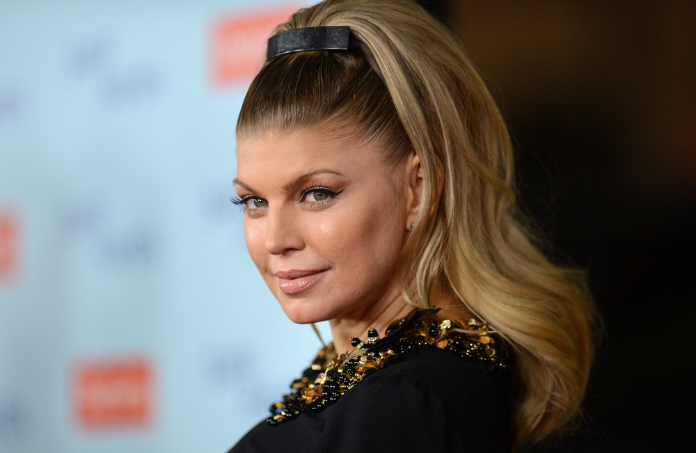 Description of . Singer Fergie arrives at the premiere of Relativity Media's 'Safe Haven' at TCL Chinese Theatre on February 5, 2013 in Hollywood, California.  (Photo by Jason Merritt/Getty Images)